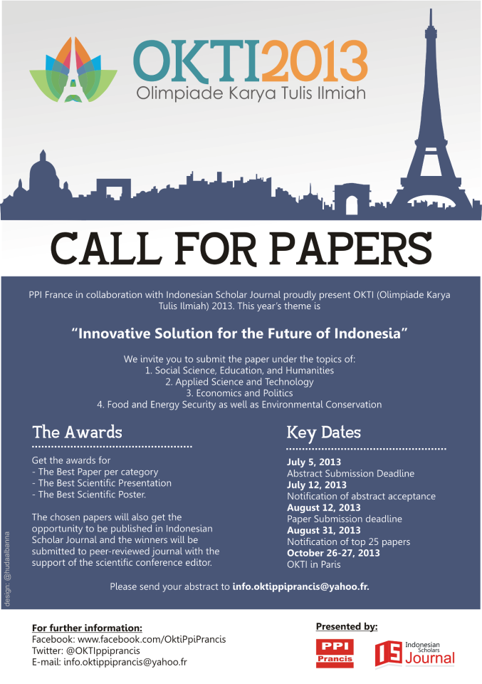 call for papers in literary journals 2013
