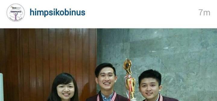 BINUS Raih Kemenangan Psychompilation 2015