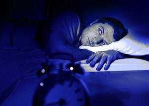Tidak bisa tidur karena mimpi buruk..