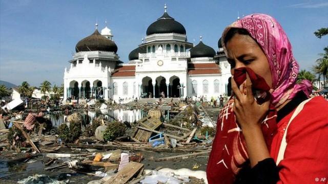 Tsunami di Aceh, salah satu bentuk peristiwa traumatik