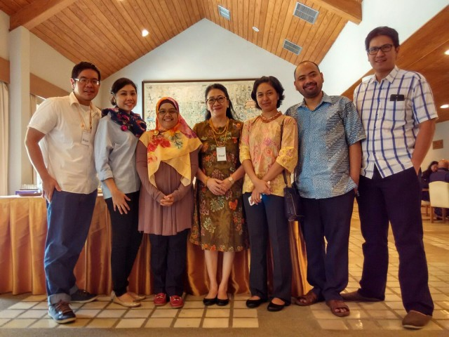 Bersama Tim EMDR Indonesia.