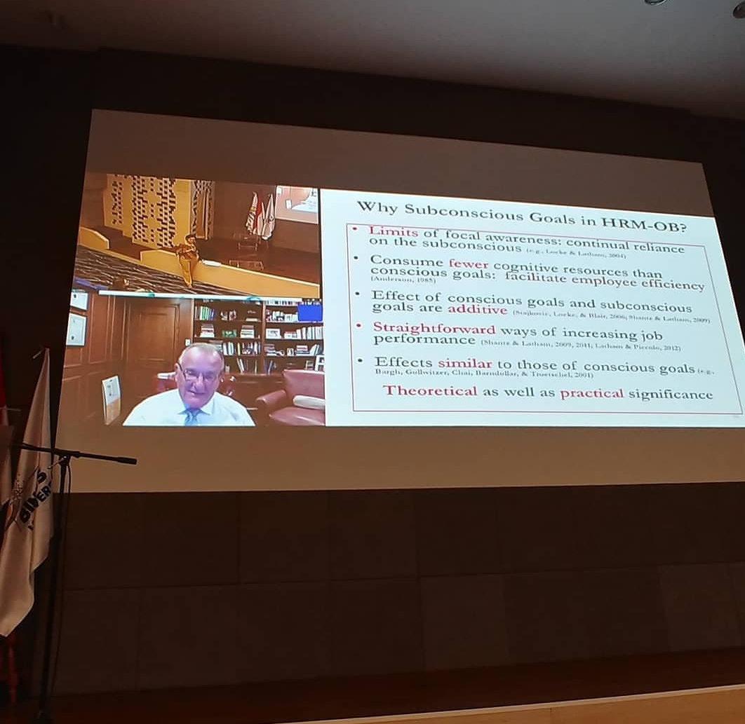 Prof Gary Latham - Keynote Speaker ICSSLAH