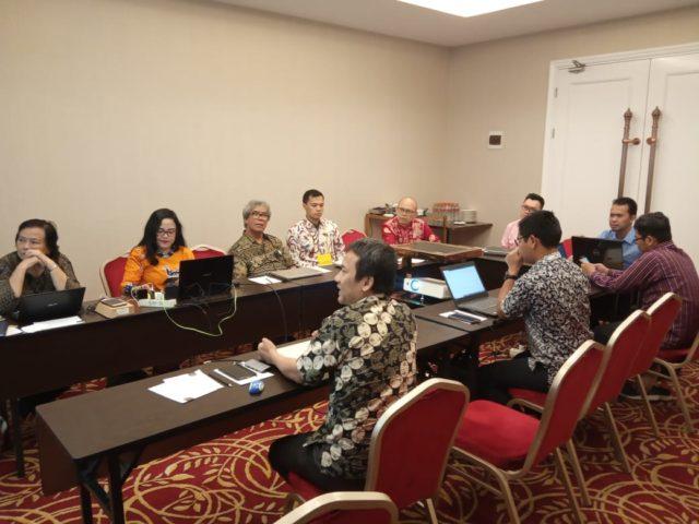 Rapat Penyusunan Kebijakan Publikasi Ilmiah Kemristekdikti