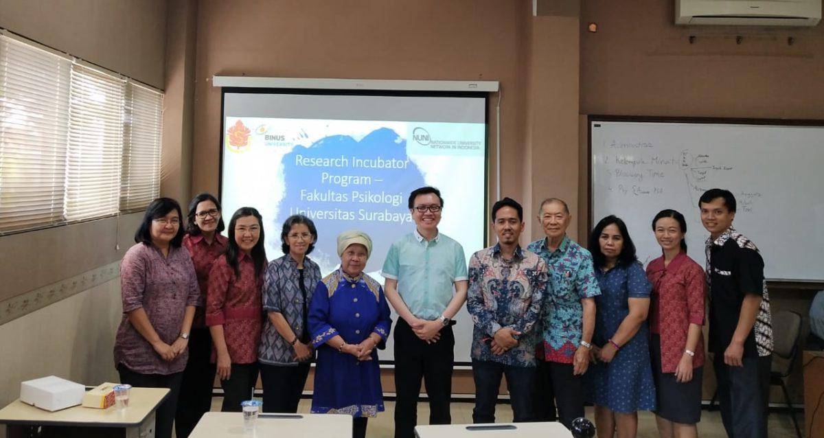 Membina Nusantara 'a la' Psikologi BINUS (4)